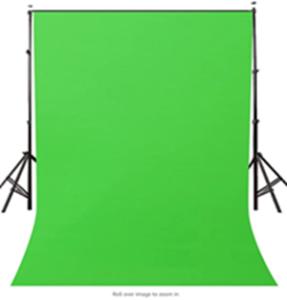 Green drop cloth